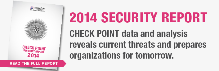 Check Point Security Report 2014