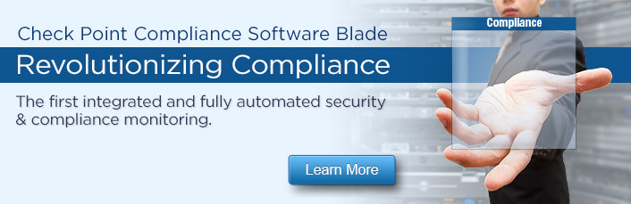 Check Point Compliance Software Blade - Revolutionizing Compliance