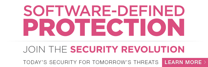 Software-defined Protection - Join the security revolution