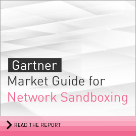 Gartner Market Guide for Network Sandboxing