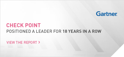 Gartner: Check Point positioned a leader for 18 years in a row. Click here to view the report.