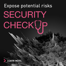 Expose potential risks - SECURITY CHECKUP - learn more