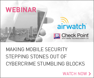 Webinar: Making Mobile Security Stepping Stones Out of Cybercrime Stumbling Blocks