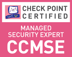 Check Point Certified Managed Security Expert (CCMSE)