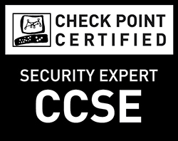 Check Point Certified Security Expert (CCSE) - Black and White
