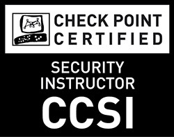 Check Point Certified Security Instructor (CCSI) - Black and White