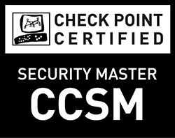Check Point Certified Security Master (CCSM) - Black and White