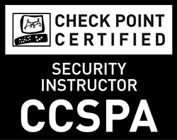 Check Point Certified Security Principles Associate (CCSPA) - Black and White