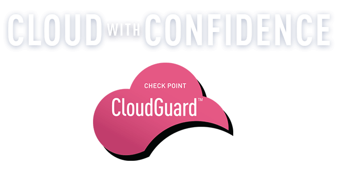 Cloud with Confidence CloudGuard logo