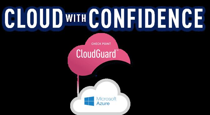 CloudGuard + Azure logo hero floater