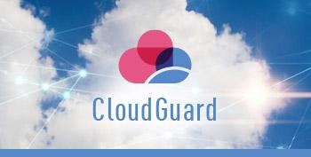 Immagine del riquadro del pilastro del logo CloudGuard