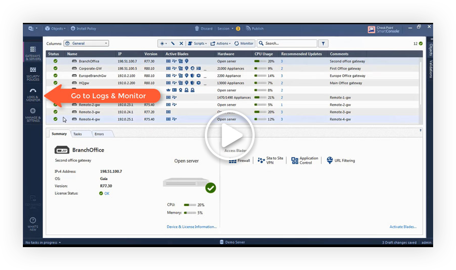 Video: Security Compliance View