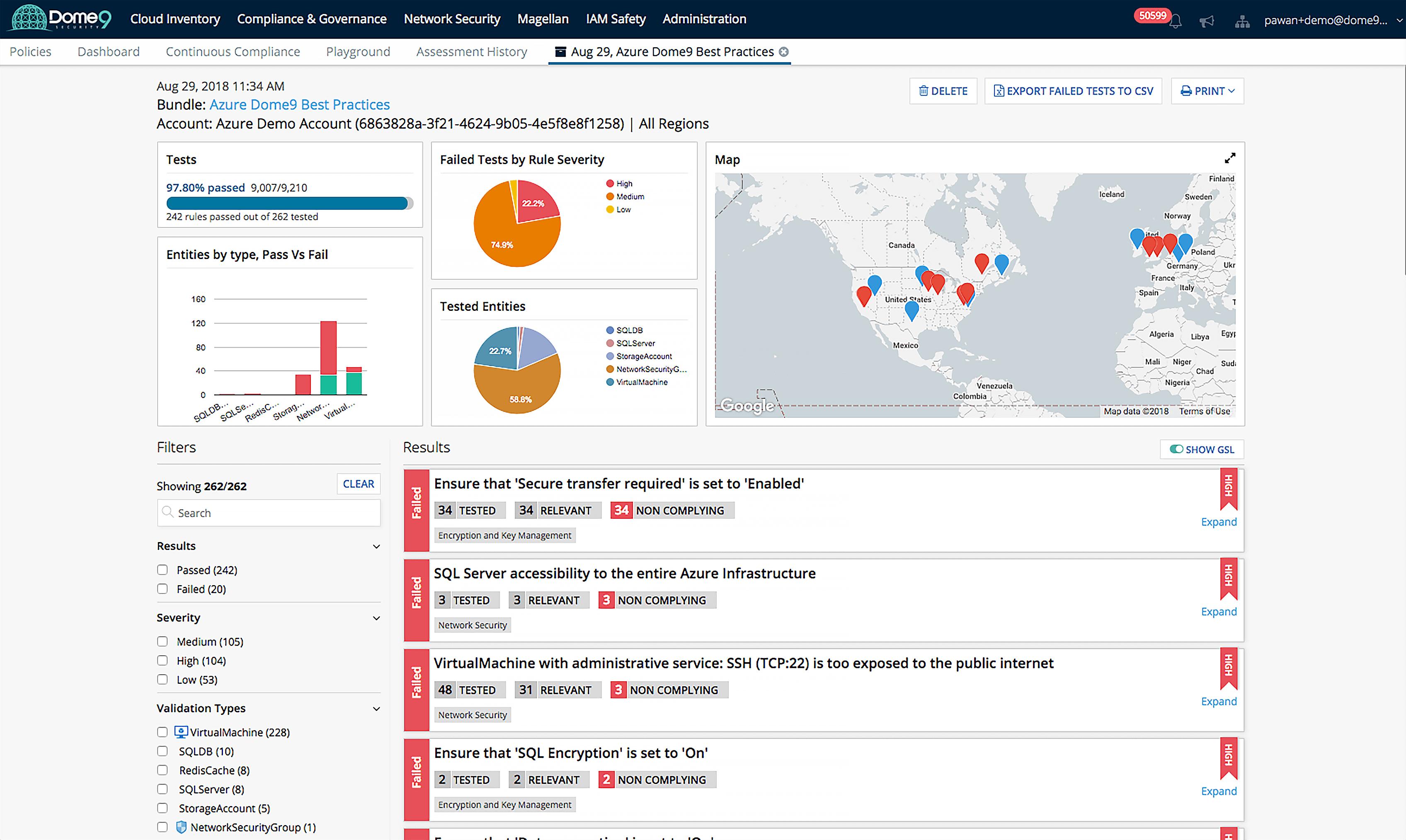 CloudGuard Dome9 Compliance for Azure