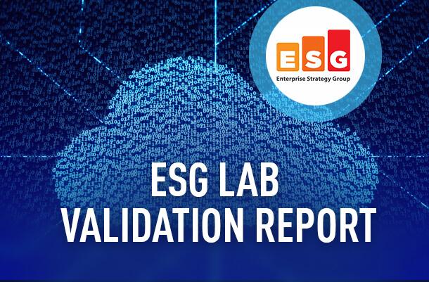 ESG Lab validation report image