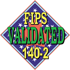 FIPS Validated Certification Logo 300x300