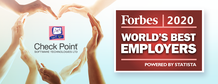 Check Point: Forbes world's best employers 2020