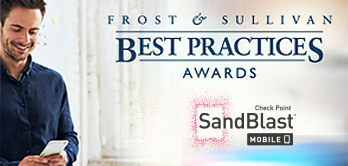 Frost & Sullivan names Check Point a market leader in Mobile Security
