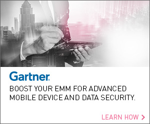 Gartner: Boost Your EMM for Advanced Mobile Device and Data Security