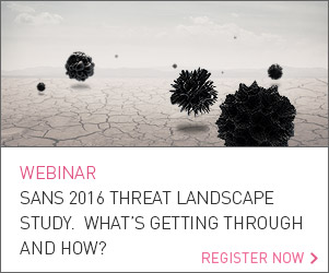 SANS 2016 Threat Landscape Study: What's Getting Through and How?