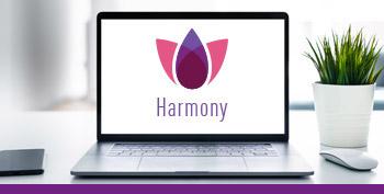 Immagine del riquadro pilastro del logo Harmony