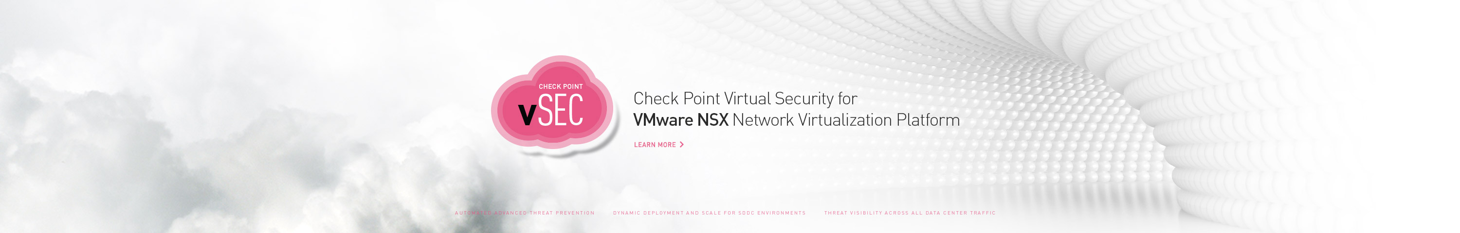 Check Point Virtual Security for VMware NSX Network Virtualization Platform