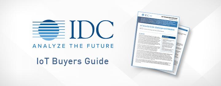 IDC IoT Buyers Guide spotlight