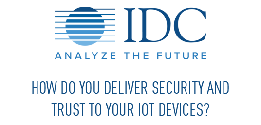 IDC logo and spotlight