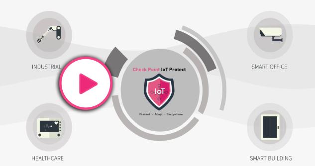 IoT Protectの概要動画の再生のグラフィック