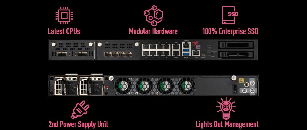 Large Enterprise Hardware Features