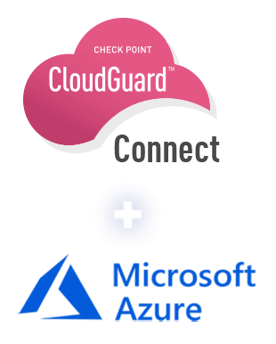 Microsoft Azure and CloudGuard Connect floating logos
