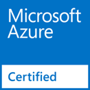 microsoft azure cloud security certificaiton logo