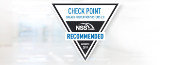 Check Point receives NSS Recommended Rating in 2019 BPS Test