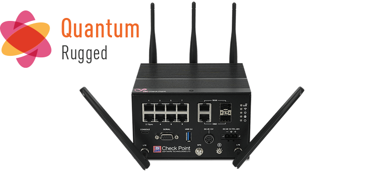 New Quantum Rugged 1570R Security Gateway