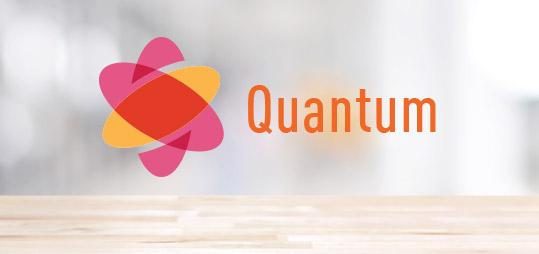 Logotipo cuántico