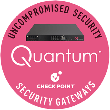 Quantum Security Gateway Appliance logo transparent