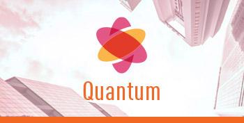 Immagine del riquadro del pilastro del logo Quantum