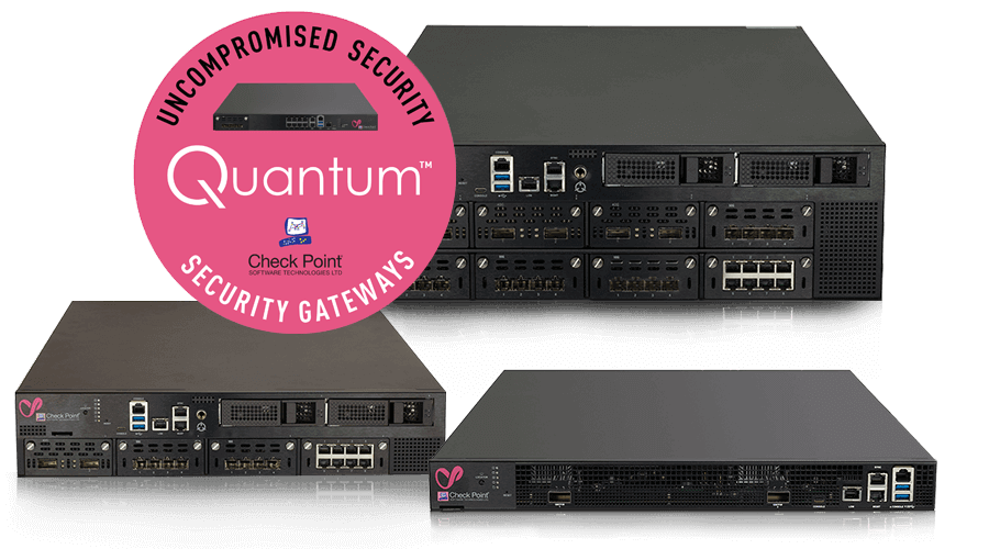 Quantum Security Gateway Appliances stacked hero image