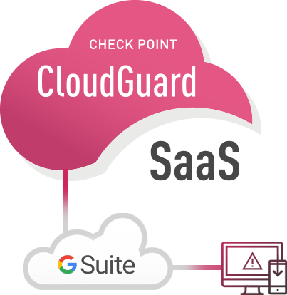 CloudGuard SaaS connects to Gmail and other SaaS Email