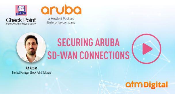 Securing Aruba SD-Wan connections webinar video thumbnail