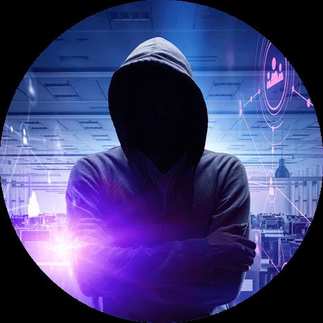 Secure Remote Workforce hacker image