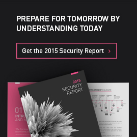 Prepare for tomorrow by understanding today: Get the 2015 security report