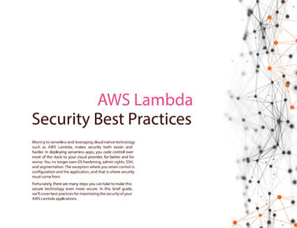 Serverless Security Strategies for AWS Lambda