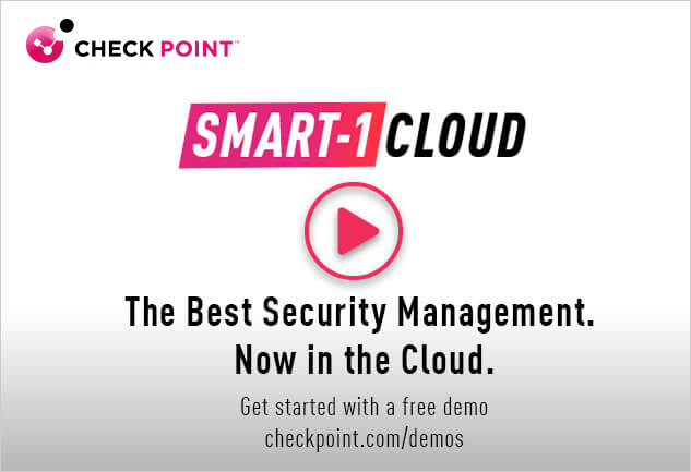 Smart-1 Cloud: The Best Security Management Video