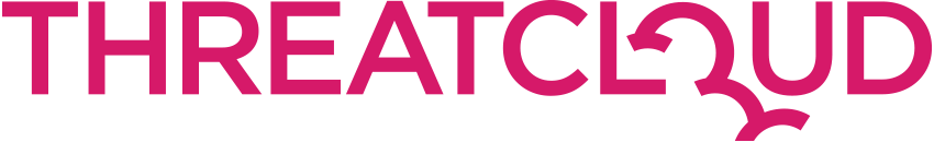 ThreatCloud logo pink