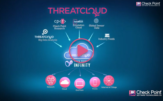 ThreatCloud Shared Intelligence video thumbnail