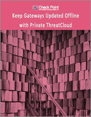 Check Point How to Keep Gateways Updated Offline