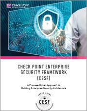 Check Point Enterprise Security framework whitepaper tile image
