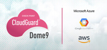 CloudGuard Dome9 logo on tile with partners
