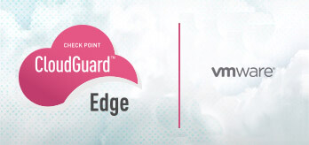 CloudGuard Edge logo on tile with partners