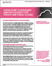 CloudGuard IAAS Security Public and Private Cloud Whitepaper